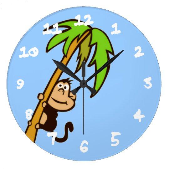 Monkey Up a Tree Wallclocks
