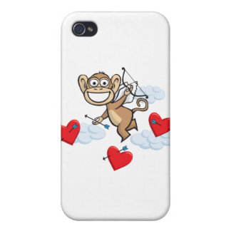 Monkey Valentine Cases For iPhone 4