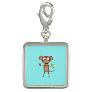 monkey with banana charm