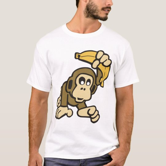 monkey-with-banana T-Shirt