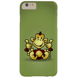 Monkey with four thumbs up barely there iPhone 6 plus case