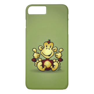 Monkey with four thumbs up iPhone 7 plus case