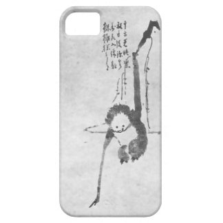 Monkey zen meditation phone iPhone 5 cases