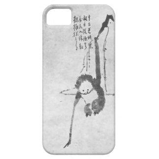 Monkey zen meditation phone iPhone 5 cover