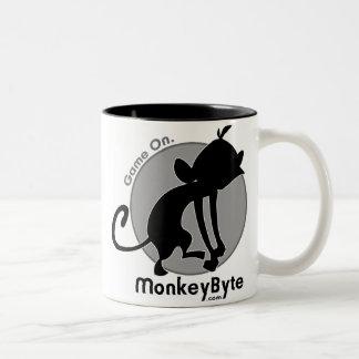 MonkeyByte.com Web Mug