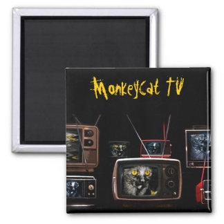 MonkeyCat TV Magnet