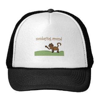 Monkeying Around Mesh Hat