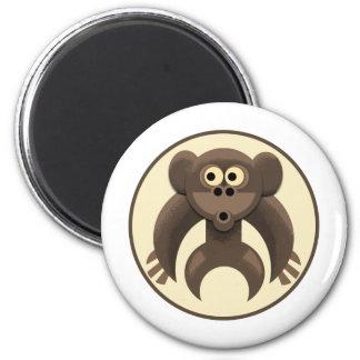 Monkeypit Logo Magnet