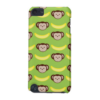 Monkeys and Bananas on Green iPod Touch (5th Generation) Cover