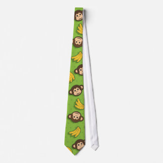 Monkeys and bananas tie
