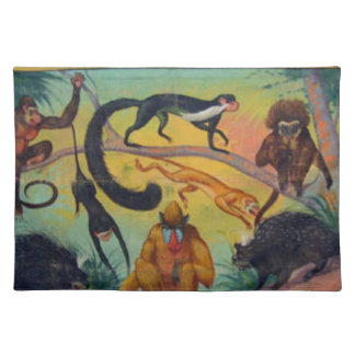 Monkeys and Porcupines Placemat
