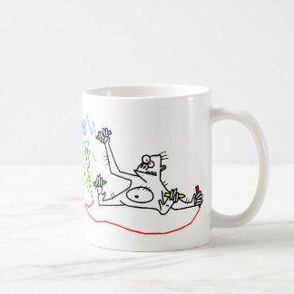 Monkeys are cool. coffee mug
