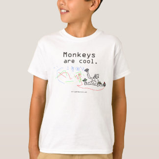 Monkeys are cool. T-Shirt