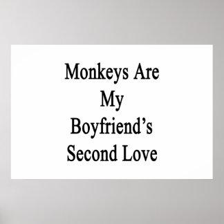Monkeys Are My Boyfriend s Second Love Print