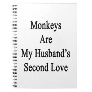 Monkeys Are My Husband s Second Love Notebooks