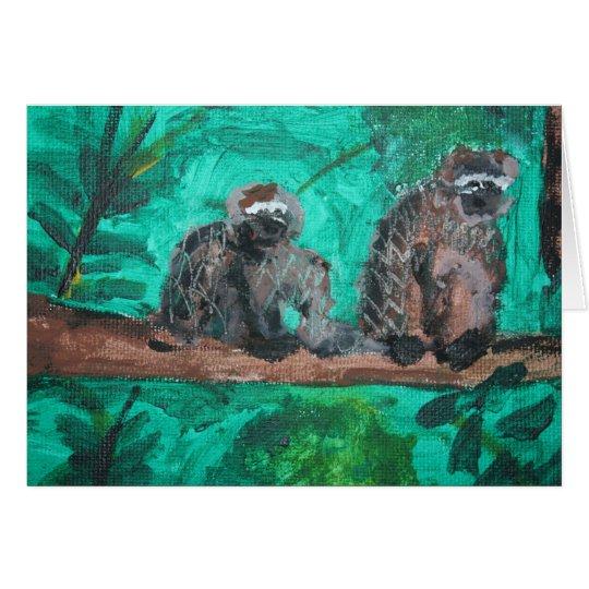 Monkeys Card