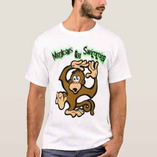 Monkeys Go Swimming T-Shirt