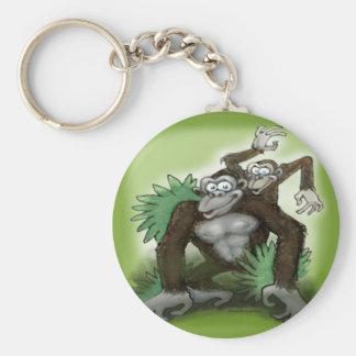 Monkeys Keychain