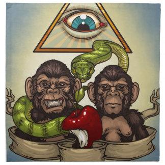Monkeys Napkin