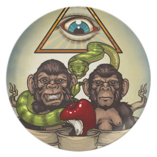 Monkeys Plates