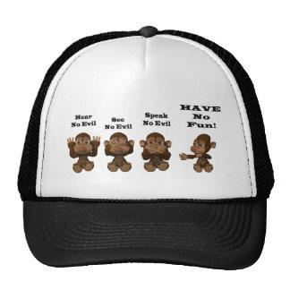 monkies casquette de camionneur