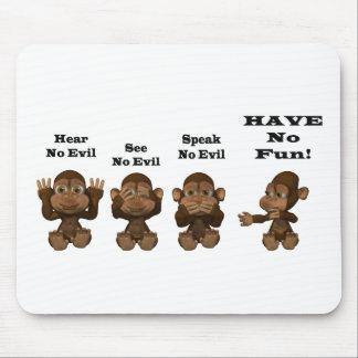 monkies tapis de souris
