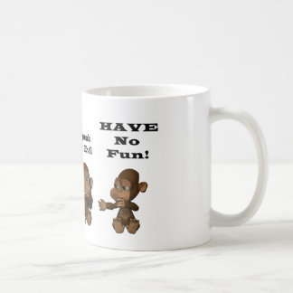 monkies tasse à café