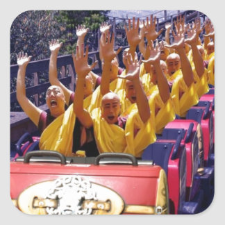 Monks-on-a-Roller-Coaster-67499.jpg Square Sticker