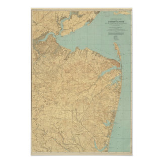 Monmouth Shore, New Jersey Poster