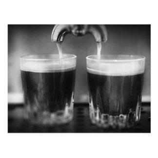 Mono Espresso Shots Postcard