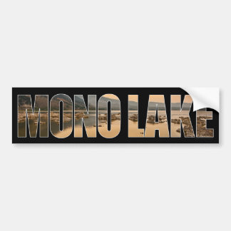 Mono Lake Bumper Sticker