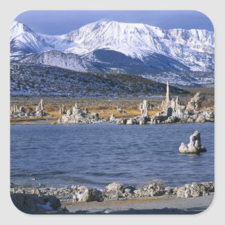 MONO LAKE TUFA STATE NATURAL RESERVE, SQUARE STICKER