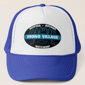 Mono Village 'Survivor' Blue Trucker Hat