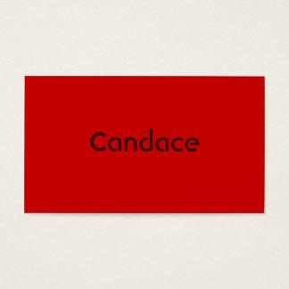 Monochromatic in Cinnamon Business Card