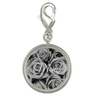 Monochromatic Mom Roses Charm