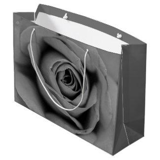 Monochromatic Rose Gift Bag
