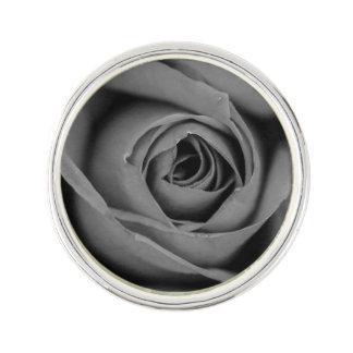 Monochromatic Rose Lapel Pin