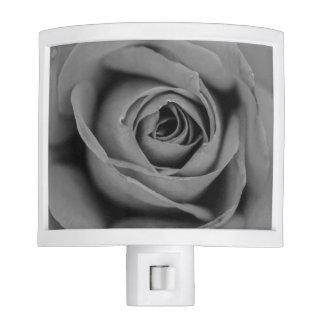 Monochromatic Rose Night Light
