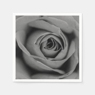 Monochromatic Rose Paper Napkin