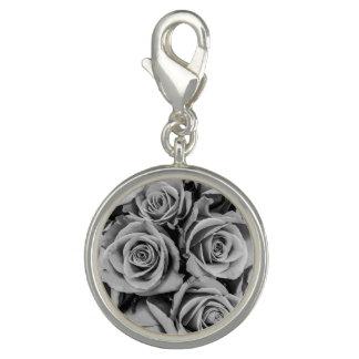 Monochromatic Roses Charm
