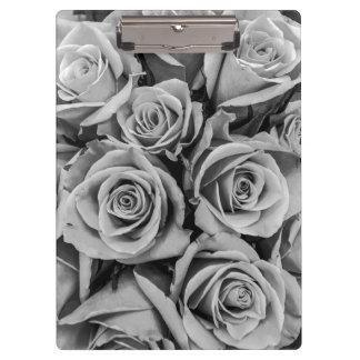 Monochromatic Roses Clipboard
