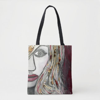 Monochromatic Women Tote Bag  (Customizable)