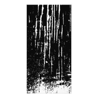 Monochrome Abstract Photo Card