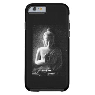 Monochrome Carved Buddha Tough iPhone 6 Case