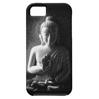 Monochrome Carved Buddha Case For The iPhone 5