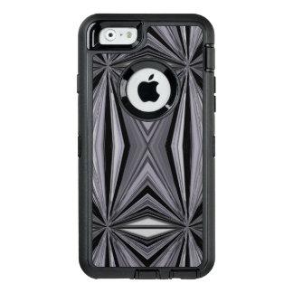 Monochrome Diamond Design OtterBox Defender iPhone Case