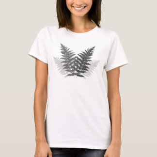 Monochrome Ferns T-Shirt