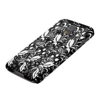 Monochrome Floral Wrap Design  Phone Case