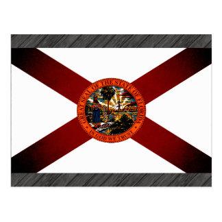 Monochrome Florida Flag Postcard