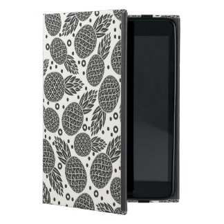 Monochrome Pineapples Covers For iPad Mini